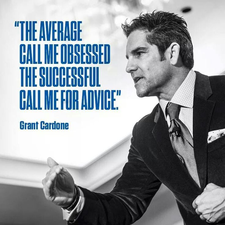 10x Rule Quotes: Grant Cardone's 4 Easy Steps To Keep On Track